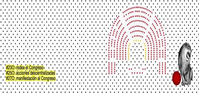 Internet vuelve a organizarse para rodear el Congreso el #23O