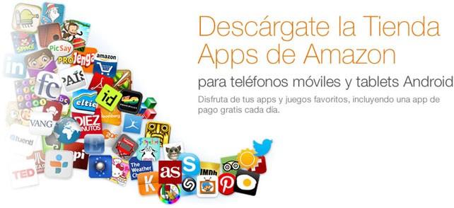 Amazon presenta su tienda de aplicaciones Android en Europa
