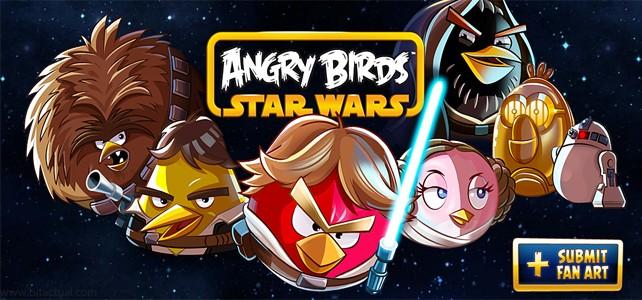 Angry Birds presentará una nueva versión de Star Wars