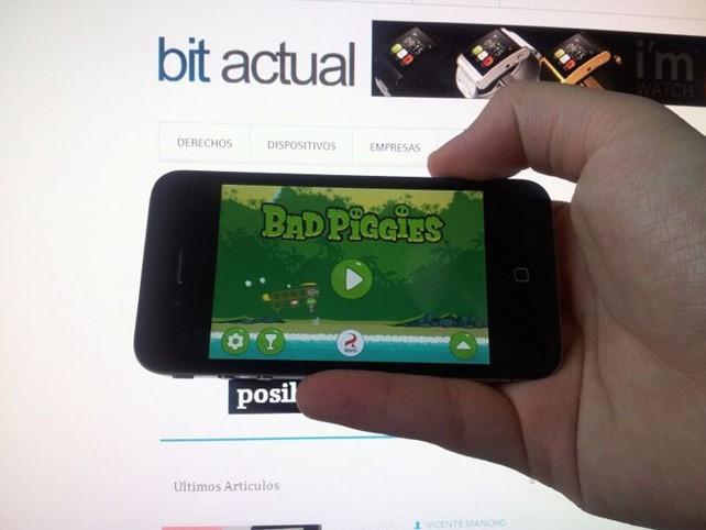 Ya disponible Bad Piggies, de los creadores de Angry Birds