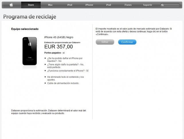 Como conseguir un iPhone 5 más barato reciclando con Apple