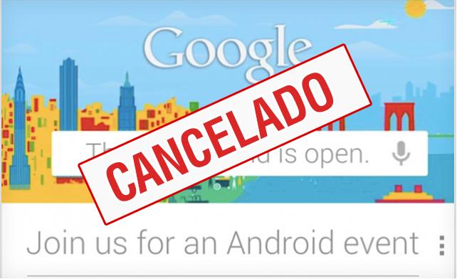 El huracán Sandy impide celebrar el evento de Google de hoy