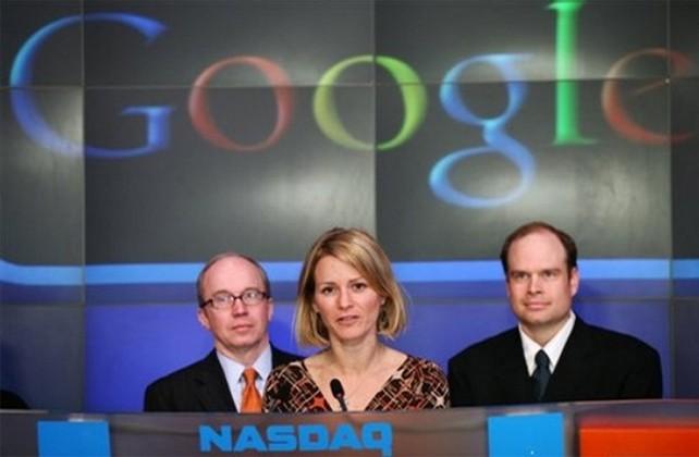 Google supera en bolsa a Microsoft por primera vez