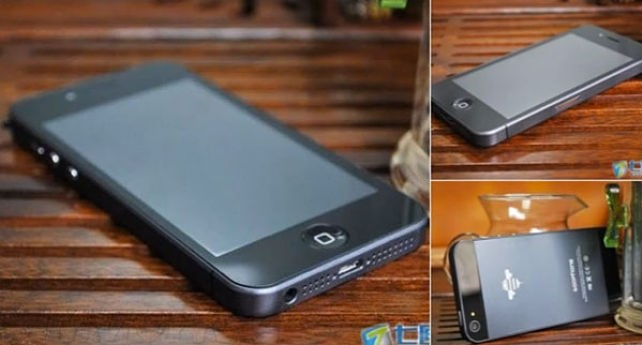 Un clon del iPhone 5 amenaza con demandar a Apple