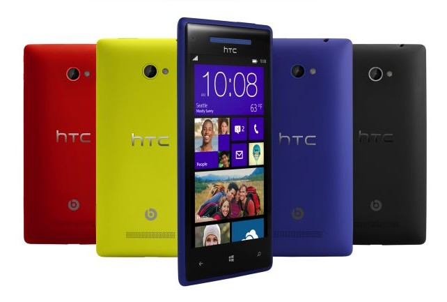 Los primeros Windows Phone 8 de HTC