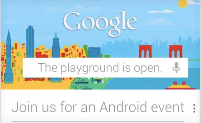 Google podría presentar una nueva versión de Android