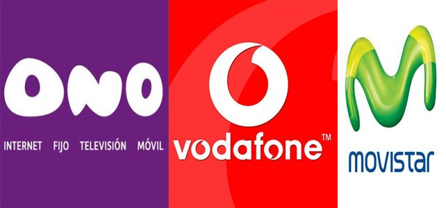 ONO y Vodafone compiten contra Movistar Fusión