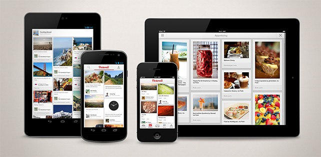 Pinterest lanza sus aplicaciones para Android y iPad