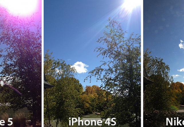La cámara del iPhone 5 también tiene problemas