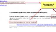Un virus se hace pasar por un falso vídeo de Julian Assange