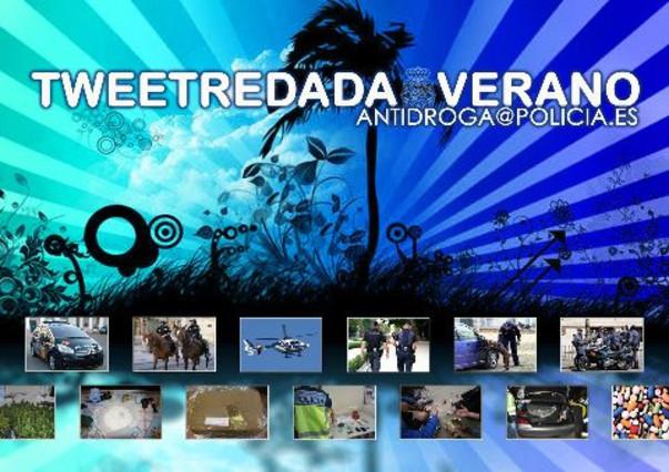 La policía lanza su segunda #Tweetredada en Twitter
