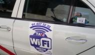 WiFi gratuito en taxis españoles? Pues es cierto