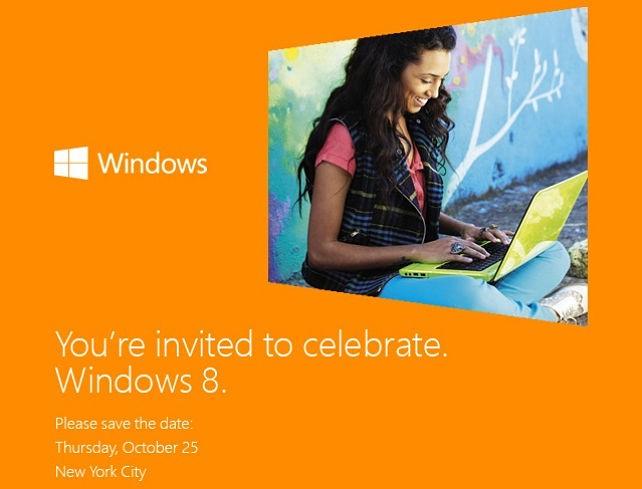 Microsoft podría presentar Windows 8 el 25 de Octubre