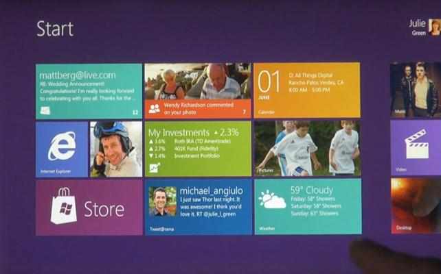 Microsoft lanza una versión de prueba de Windows 8