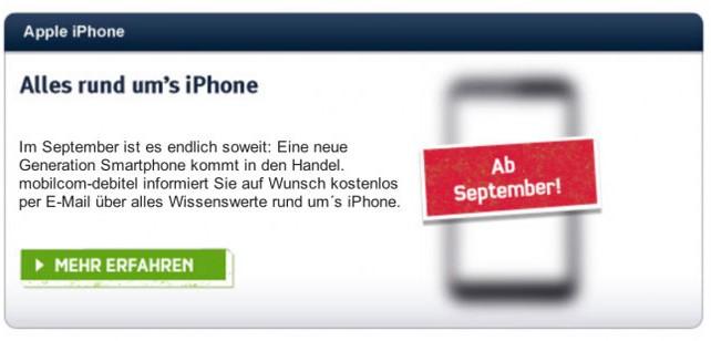 El iPhone 5 se lanzará el 21 de Septiembre