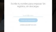 Si no tienes Skype, también puedes utilizar la aplicación